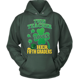 Fifth Grade - St. Patrick's Fifth Graders - Hoodie / Dark Green / S - 12