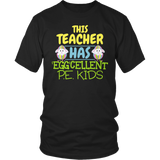Phys Ed - Eggcellent PE Kids - District Unisex Shirt / Black / S - 7