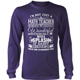 Math - Big Cup - District Long Sleeve / Purple / S - 11