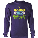 Phys Ed - Eggcellent PE Kids - District Long Sleeve / Purple / S - 10