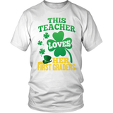 First Grade - St. Patrick's First Graders - District Unisex Shirt / White / S - 2