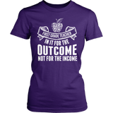 First Grade - Outcome - District Made Womens Shirt / Purple / S - 1