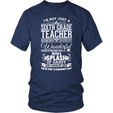 Sixth Grade - Big Cup - District Unisex Shirt / Navy / S - 5