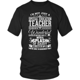 Special Education - Big Cup - District Unisex Shirt / Black / S - 6