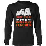 Second Grade - Ghosts - District Long Sleeve / Black / S - 7