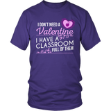 Special Education - Classroom Full - District Unisex Shirt / Purple / S - 8