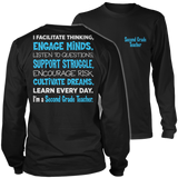 Second Grade - Engage Minds - District Long Sleeve / Black / S - 9