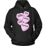 Theater - Candy Hearts - Hoodie / Black / S - 12