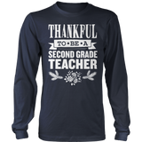Second Grade - Thankful - District Long Sleeve / Navy / S - 2