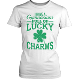 Phys Ed - Lucky Charms - District Made Womens Shirt / White / S - 4