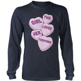 Theater - Candy Hearts - District Long Sleeve / Navy / S - 10