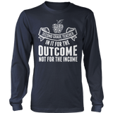 Second Grade - Outcome - District Long Sleeve / Navy / S - 10