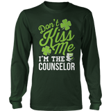 Counselor - Don't Kiss Me - District Long Sleeve / Dark Green / S - 8