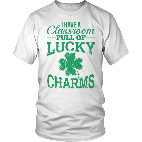 Special Education - Lucky Charms - District Unisex Shirt / White / S - 1