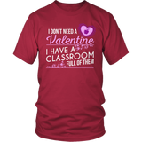 Special Education - Classroom Full - District Unisex Shirt / Red / S - 9