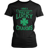 Phys Ed - Lucky Charms - District Made Womens Shirt / Black / S - 6