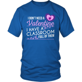 Special Education - Classroom Full - District Unisex Shirt / Royal Blue / S - 7