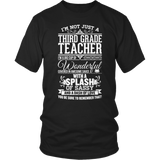 Third Grade - Big Cup - District Unisex Shirt / Black / S - 6
