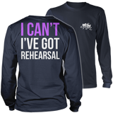 Theater - I Cant - District Long Sleeve / Navy / S - 10