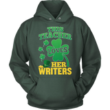 English - St. Patrick's Writers - Hoodie / Dark Green / S - 12