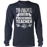 Preschool - Thankful - District Long Sleeve / Navy / S - 2