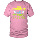 Counselor - Eggcellent Students - District Unisex Shirt / Pink / S - 8