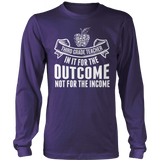 Third Grade - Outcome - District Long Sleeve / Purple / S - 11