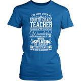 Fourth Grade - Big Cup - District Made Womens Shirt / Royal / S - 4