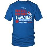 Phys Ed - Cooler - District Unisex Shirt / Royal Blue / S - 4