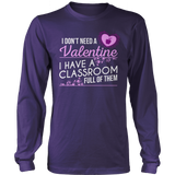 Special Education - Classroom Full - District Long Sleeve / Purple / S - 11