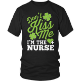 Nurse - Don't Kiss Me - District Unisex Shirt / Black / S - 3