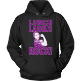 Lunch Lady - Rock - Hoodie / Black / S - 12
