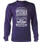 Kindergarten - Big Cup - District Long Sleeve / Purple / S - 11