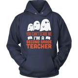 Second Grade - Ghosts - Hoodie / Navy / S - 11