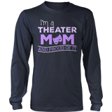 Theater - Proud Mom - District Long Sleeve / Navy / S - 10