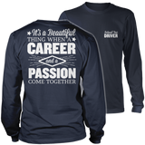 School Bus Driver - Beautiful Thing - District Long Sleeve / Navy / S - 10
