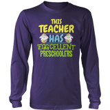 Preschool - Eggcellent - District Long Sleeve / Purple / S - 10