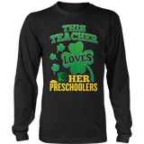 Preschool - St. Patrick's Preschoolers - District Long Sleeve / Black / S - 10