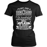 Science - Big Cup - District Made Womens Shirt / Black / S - 2