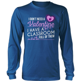 Special Education - Classroom Full - District Long Sleeve / Royal Blue / S - 12