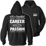 Nurse - Beautiful Thing - Hoodie / Black / S - 12