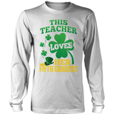 Fifth Grade - St. Patrick's Fifth Graders - District Long Sleeve / White / S - 9