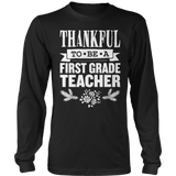 First Grade - Thankful - District Long Sleeve / Black / S - 1