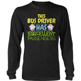 School Bus Driver - Eggcellent - District Long Sleeve / Black / S - 12