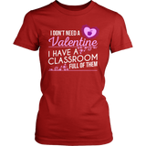 Special Education - Classroom Full - District Made Womens Shirt / Red / S - 2