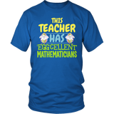 Math - Eggcellent - District Unisex Shirt / Royal Blue / S - 5