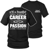 Counselor - Beautiful Thing - District Unisex Shirt / Black / S - 5
