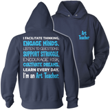 Art - Engage Minds - Hoodie / Navy / S - 13