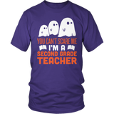 Second Grade - Ghosts - District Unisex Shirt / Purple / S - 6