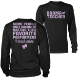 Theater - Teach Mine - District Long Sleeve / Black / S - 5